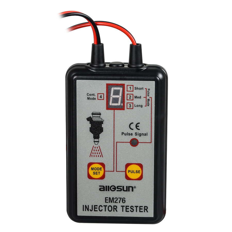 Image 2 - All Sun Professional EM276 Injector Tester 4 Pluse Modes Powerful Fuel System Scan Tool EM276 Injector Tester-in Electrical Testers & Test Leads from Automobiles & Motorcycles