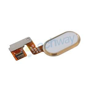Image 5 - Meizu M3 Note L681H bouton daccueil capteur dempreintes digitales clé câble flexible ruban pièces de rechange Meizu L681H bouton 14 broches