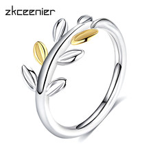 10260bc47 coupon code for fashion silver laurel leaves pandora ring with two  luxurious leaves original jewelry for