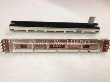 [BELLA]Special fader SC-100G 128MM 12.8cm long mixer double Slide Potentiometer B10KX2-15MMB–10PCS/LOT