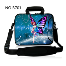 Fairy Lady 10 12 13 15 17 inch Laptop computer Shoulder Bag pocket book 15.6 pill sleeve case for macbook professional/air /floor professional three/sony vaio