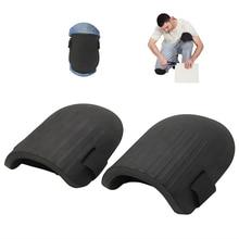 1 par de rodilleras de trabajo con relleno de espuma suave y Flexible, protección personal para el trabajo, limpieza de jardinería, rodillera deportiva protectora