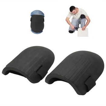 1 para nakolannik praca elastyczny miękki piankowy wyściółka bezpieczeństwo w miejscu pracy samoochrona do ogrodnictwa czyszczenie ochronny Sport Kneepad tanie i dobre opinie Kneepads 1 Pair Knee Pad Work Flexible Soft Foam Knee Protector Pads Black One Pair
