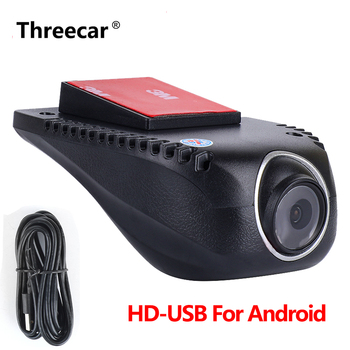 Car Dvr Dash Cam USB DVRs Camera for Android GPS Car Stereo Car DVR Camera Driving recorder HD 1080P Digital Video Recorder image