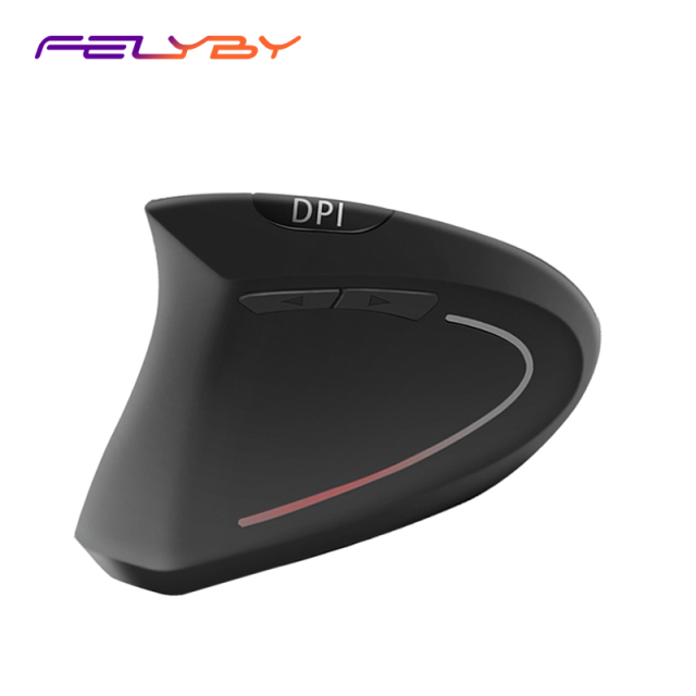 vertical wireless mouse 1600DIP wireless charging mouse