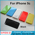 Полный Жилищно Назад Крышка Батарейного Отсека Ближний Рамка Назад Черный Красный зеленый Белый Синий Замена Корпуса для Apple iPhone 5C с логотип