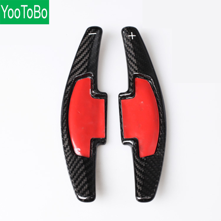 Carbon Fiber Shifter Paddle Gear For Honda Acura Odyssey Accord CR V Civic Steering Wheel Shift
