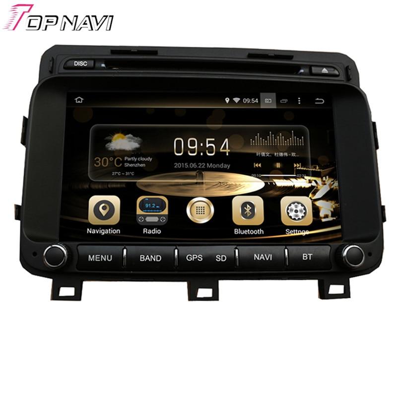TOPNAVI 8 ''marque Quad Core Android 6.0 voiture GPS Navigation pour KIA K5/OPTIMA 2014-/Magentis Autoradio DVD multimédia Audio