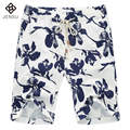 2016 Men Shorts Men's Casual Fashion Slim Fit Large Size Knee Length Floral Beach Trousers Floral Shorts Outwear Male Shorts