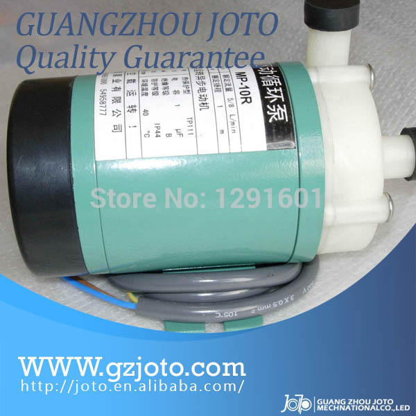 MP-6R Acid Resistance Pure Water Production Magnetic Driven Pump 220V Fluorine Plastic Magnetic Pump For Clean Water