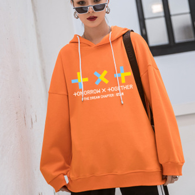 TXT Combination The Dream Chapter STAR Fashion 2019 New Hooded Clothe Loose Students Hip Hop Hoodies New Fans Gifts Drop Ship