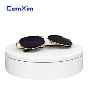Image 2 - 20cm Weiß Fernbedienung Elektrische Plattenspieler 360 Grad Rotierenden Basis Fotografie Ausrüstung Produkt Display ständer ComXim