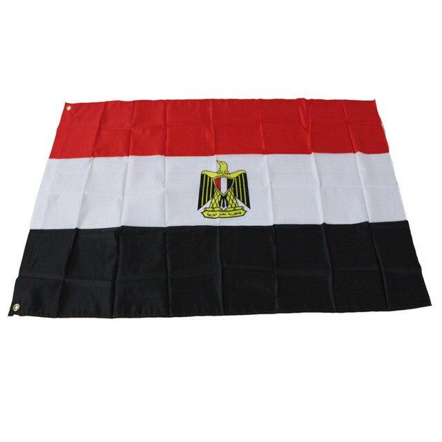 3*5 pies de Vuelo república de Egipto Egipto bandera de Poliéster ...