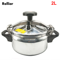 2L Aluminum Alloy Explosion proof Pressure Cooker Stainless Steel Elastic Beam Electric Fire Outdoor Camping Cooker
