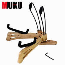 MA-38  Super Handcraft Wood Structure Electric & Folk Guitar Stand / Acoustic Guitar Support Guitar Accessories