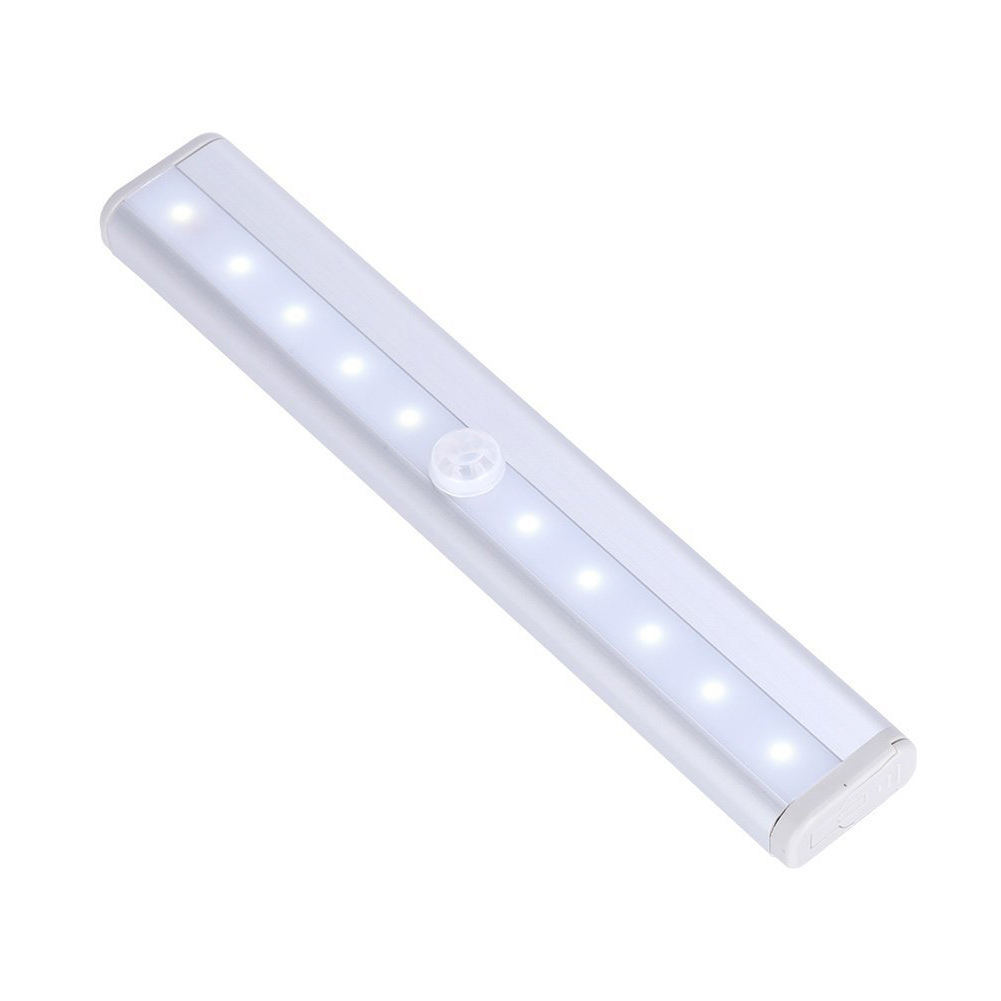 10LED cupboard sensor light wireless LED cabinet light