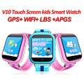 GPS трекер умный ребенок телефон вахты Q750 Q100 WI-FI сенсорный экран SOS Вызова Расположение Устройства для Детей Безопасной PK Q50 Q90 ребенка часы