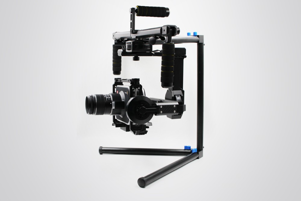 DYS gimabl FUNN Plug and Play gimbal RED BMCC 5D3 DSLR 3 axis Brushless Gimbal with 32 bits controller and Joystick