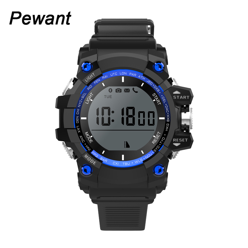 2017 hombres de la moda deportiva smart watch ip68 impermeable profesional bluet
