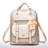 HJKL Designer Book Bags for Girls High Quality Ladies Backpacks Leather Blue Hot Pink Black Red Lavender Gold Backpack