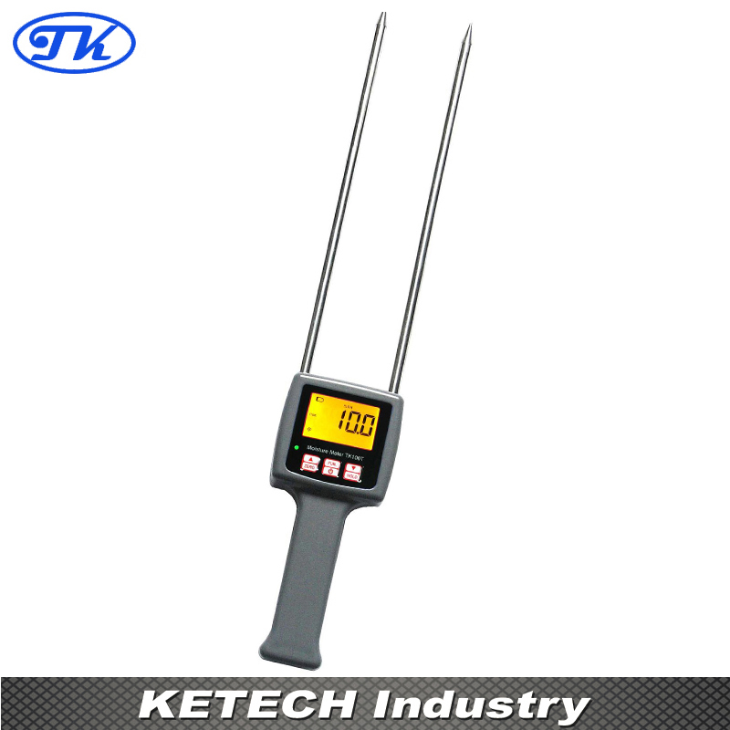 Digital Tobacco Moisture Meter TK100T fiber materials wooden articles tobacco cotton paper building soil and other fibre materials digital wood moisture meter mc7806
