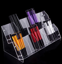 New arrival Acrylic  Pen holder Eyebrow Eyeliner Pencil Make-Up Pen Display Multifunction Exhibition Stand Jewelry storage box