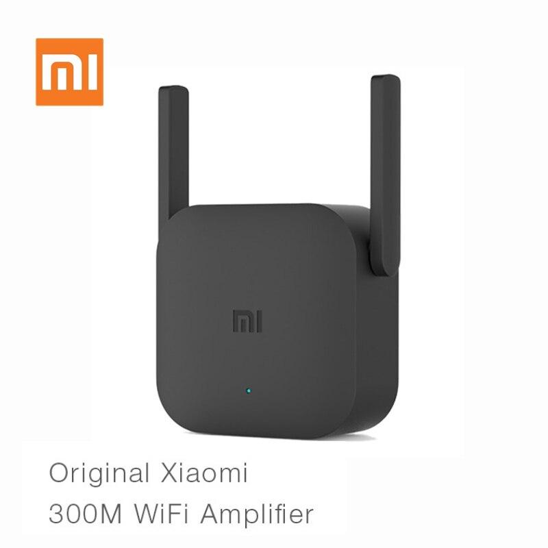 Original Xiaomi Router Wi-fi Pro 300M Rede Expander Amplificador 2.4G Repetidor Extensor De Sinal Wi-fi Roteador Antena do Roteador Wi-Fi