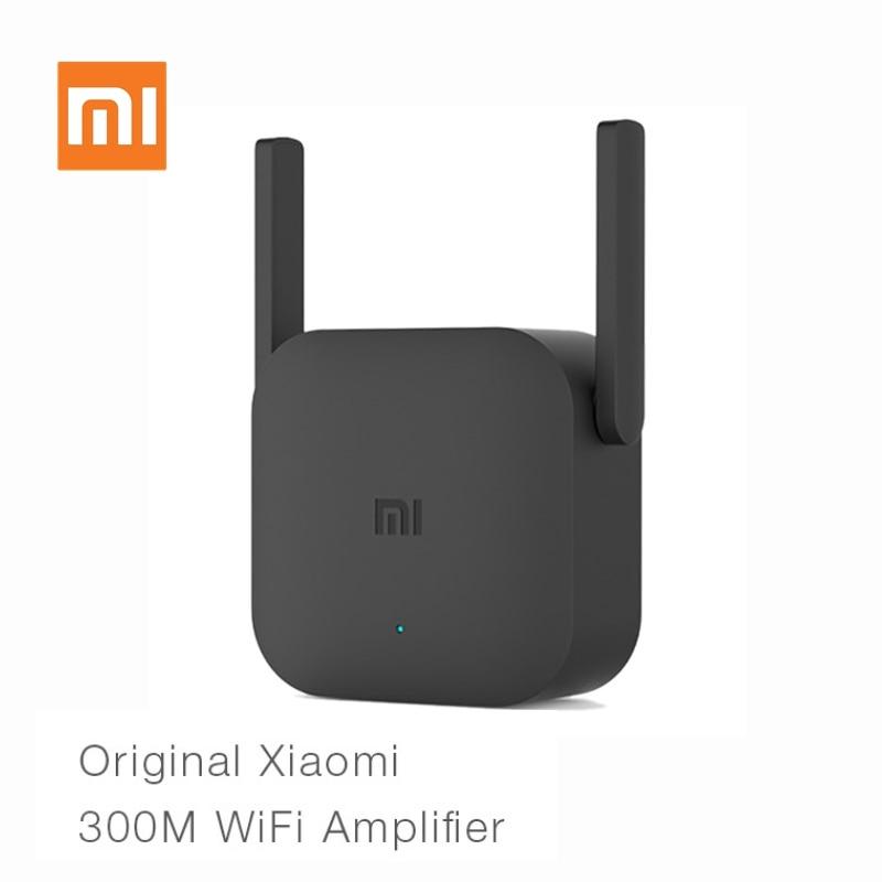 Original xiaomi wifi roteador pro 300 m amplificador expansor de rede repetidor 2.4g wi-fi sinal extensor roteador antena wi-fi
