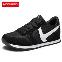 Nanjiren Men's Shoes Sneakers Summer Zapatillas Hombre Casual Erkek Ayakkabi Breathable Luxury Brand Off White Shoes Male