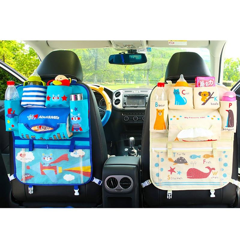 Oxford coche asiento trasero bolsa de almacenamiento de for Asientos infantiles coche