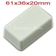Small Desk top Plastic Enclosure Box Case White 61x36x20mm HIGH QUALITY