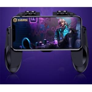 Image 3 - PUBG Mobile Controller Gamepad Cooler Cooling พัดลมสำหรับ iOS Android สมาร์ทโฟน 6 นิ้วการทำงาน Joystick Cooler แบตเตอรี่