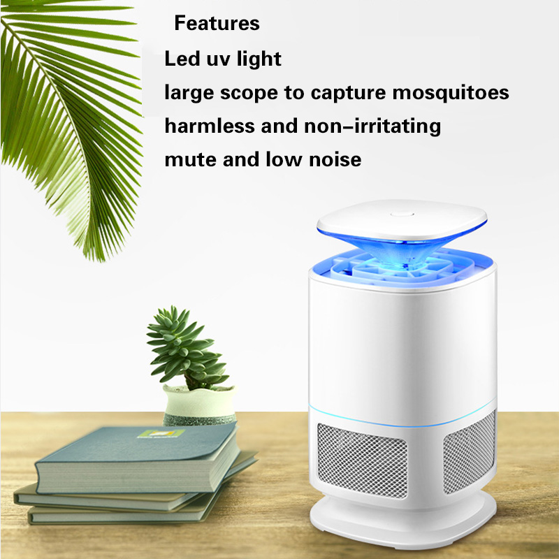 LED Insect Killer Lamp Pest Mosquito Trap Non-toxic Lighting Electric Mosquito Pest Moth Wasp Killer USB Powered Inhaled Lights mosquito killer lamp led trap pest insect