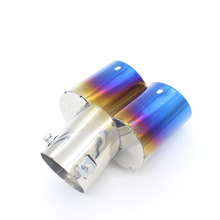 Dongzhen Stainless Steel Car Exhaust Pipe Tail Muffler Tip Car Exhaust Silencer System Fit For Hyundai ix35 Elantra Verna