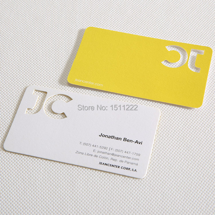 custom business cards embossed cards color edge visting thickness ...