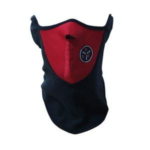 Image 3 - Tactical Motorcycle Mask Face Warmer Cover Balaclava Ski Snow Moto Cycling Warm Winter Neck Guard Scarf Warm Protecting