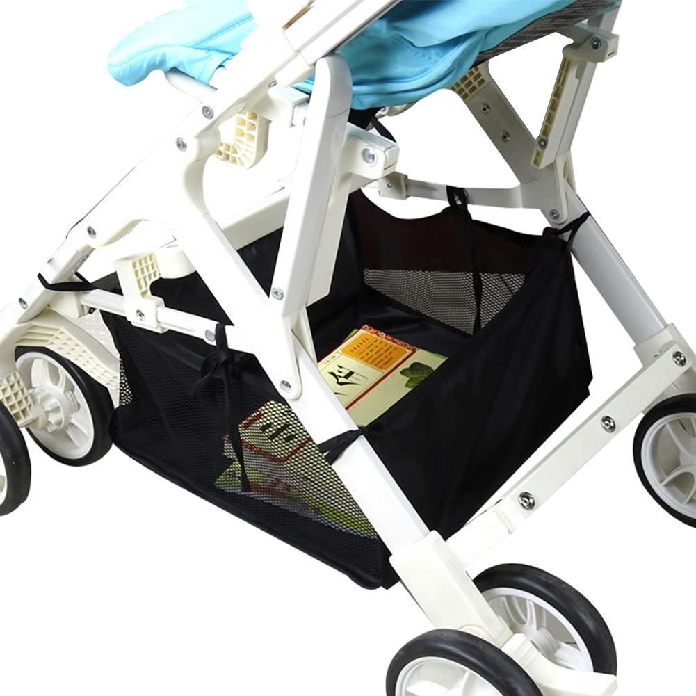Baby Stroller Pram Bottom Basket Pushchair Buggy Shopping Storage Organizer Bag