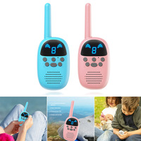 1 Pair Walkie Talkie Children Interphone Educational Games Handheld Toy Radio Kids Gift S7JN