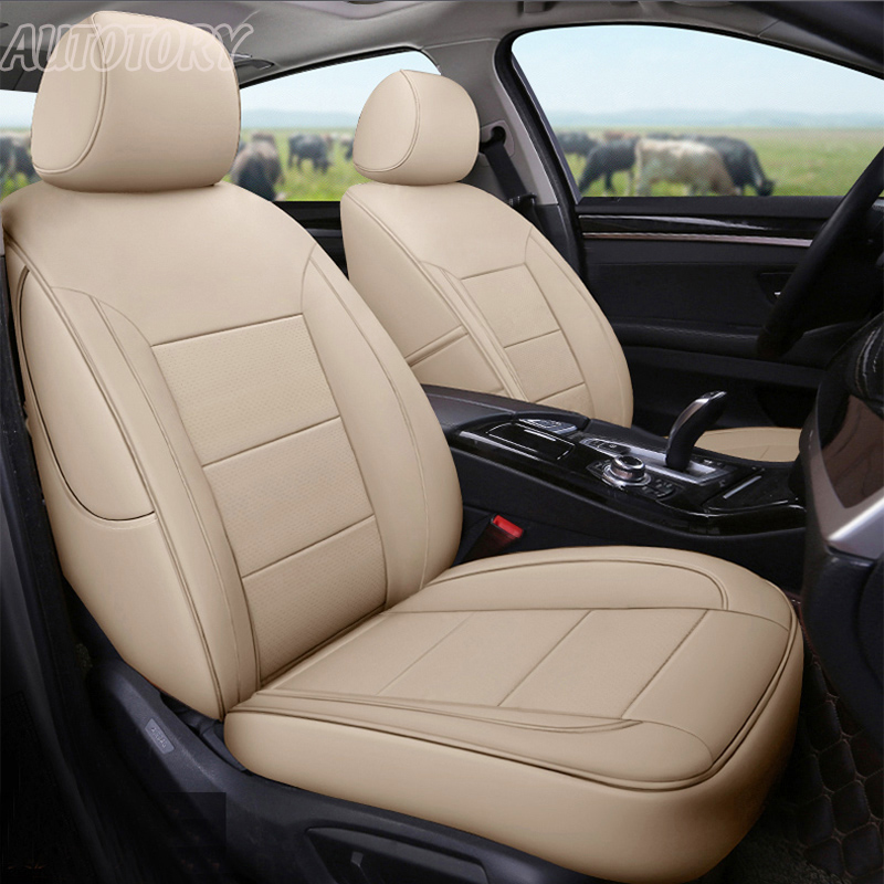 Autotory Custom Genuine Leather Cover Seats for BMW X5 Series 2004-2018 Car Seat Covers Cowhide 5 & 7 Seats Cushion Supports Pad