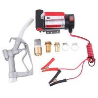 11GPM 12v DC Fuel Diesel Kerosene Transfer Pump Kit With Nozzle