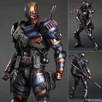 Action figure Movie Deadpool PLAYARTS Terminator Deathstroke 27cm PVC Playarts Kai kids Toys cartoon Dolls gift Model Anime