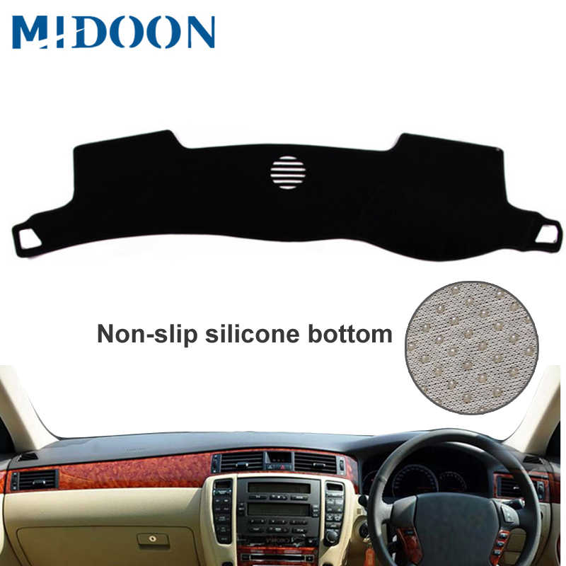 MIDOON For Toyota crown s180 2003 2004 2005 2006 2007 2008 Car Styling Covers Dashmat Dash Mat Sun Shade Dashboard Cover Capter