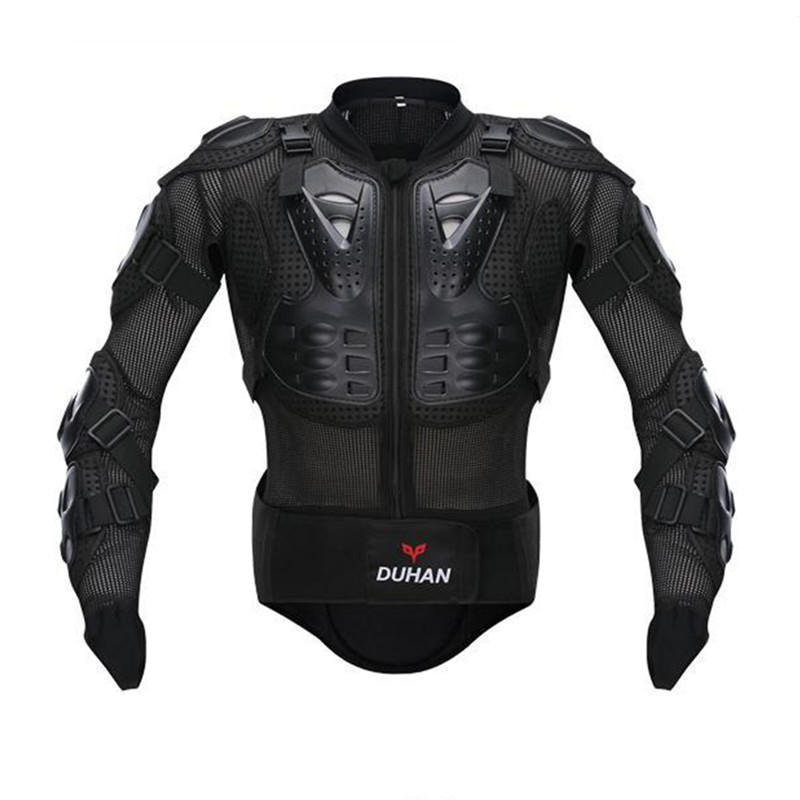DUHAN Chaude Moto Complet Body Armor Veste Spine Protection Poitrine Vitesse Veste Corps Protection Moto Armure Veste