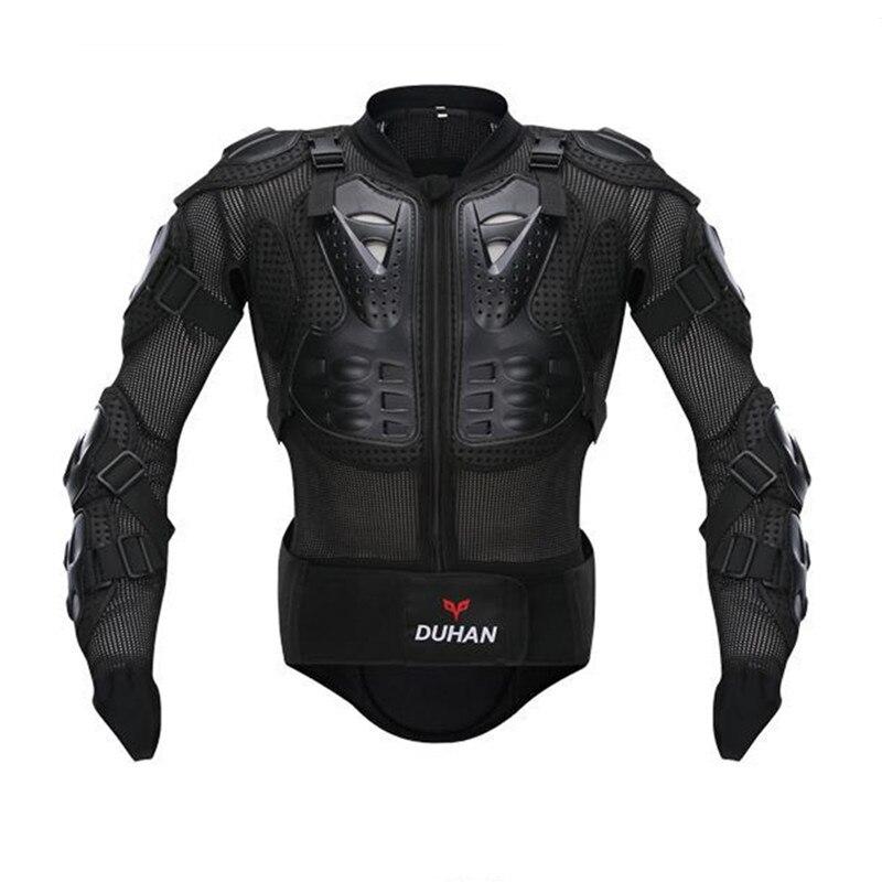 DUHAN chaud moto armure complète veste colonne vertébrale poitrine Protection Gear veste Protection du corps moto armure veste