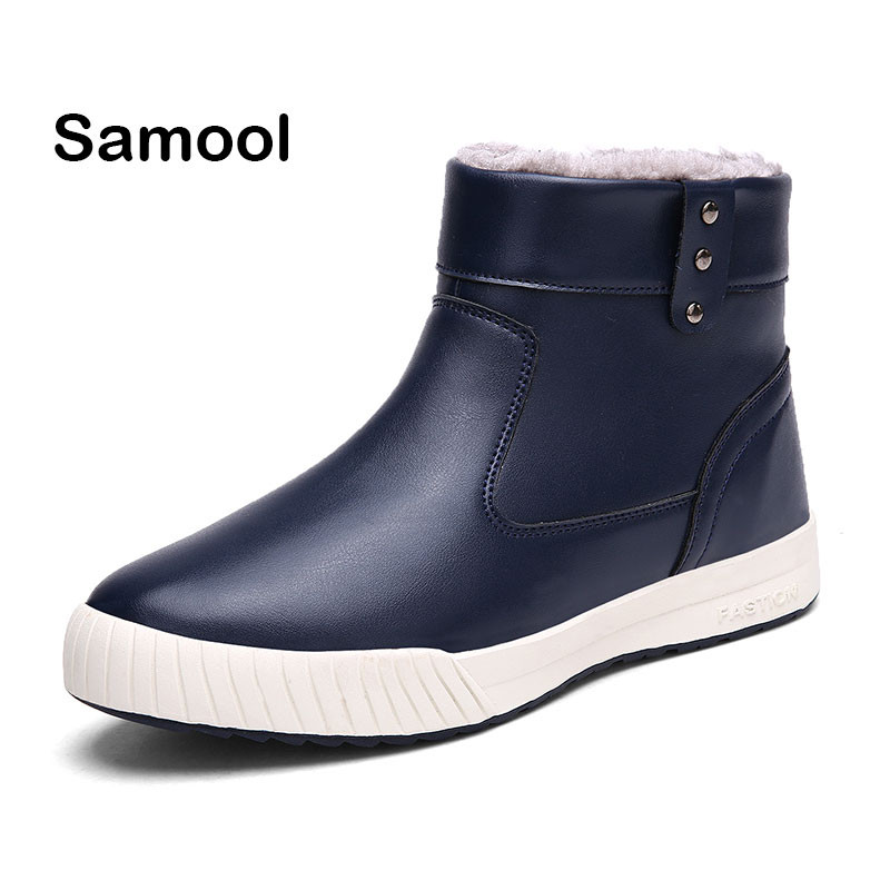 Brand New Fashion casual Leather Men round toe Boots Men business  Shoes comfortable Short Plush Winter outdoor Warm Shoes  xxz5 frank buytendijk dealing with dilemmas where business analytics fall short
