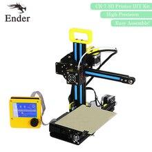 2017 Высокая точность! CR-7 3D принтер DIY Kit deskt алюминий с подогревом с нити + Инструменты + 8 г SD карта в подарок (creality 3D)