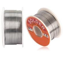 цена на 0.6/0.8/1/1.2/1.5/2MM 63/37 FLUX 2.0% 45FT Tin Lead Tin Wire Melt Rosin Core Solder Soldering Wire Roll  100g