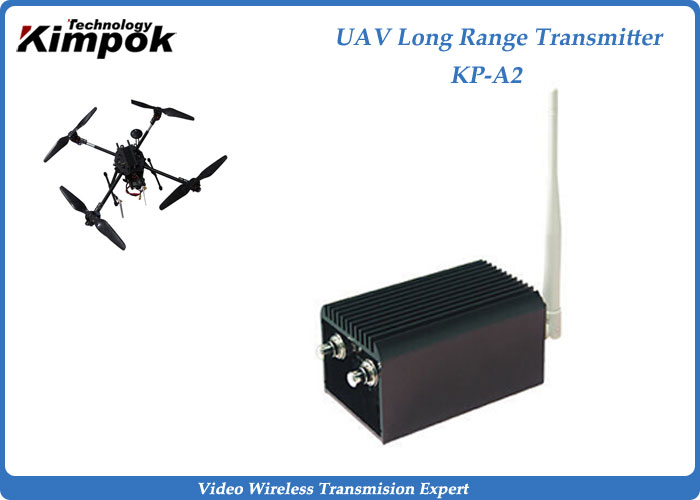Maximum 100KM Long Range Video Link 5000mW LOS FPV Video Transmitter for UAV / Drone Video Sender and Receiver