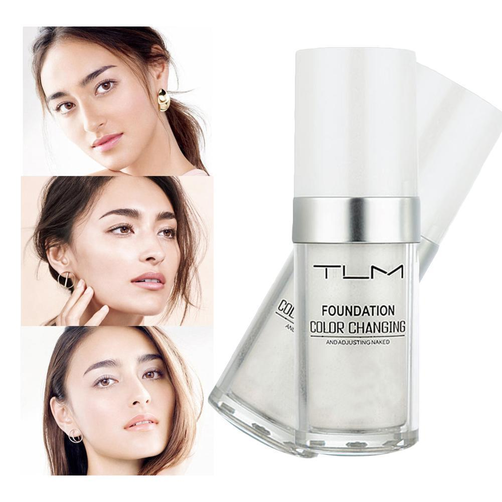 Pro Color Changing Foundation Makeup Base Nude Face Liquid Cover Concealer Longlasting sombras Skin care Makeup Gift 30ml