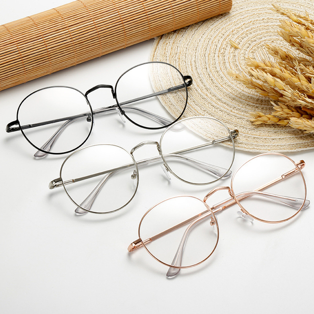 Ultralight Round Metal Frame Glasses 4